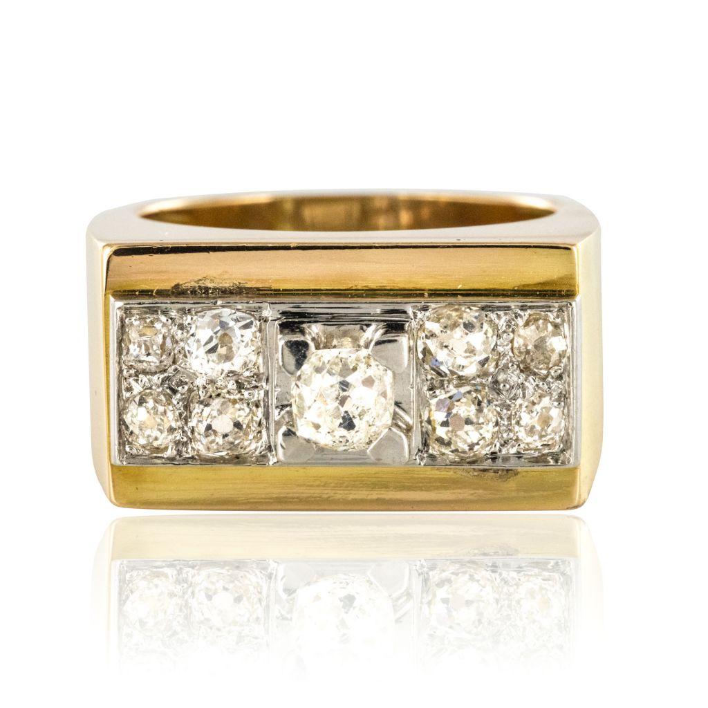 bague or diamants ebay