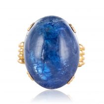 Bague tanzanite vintage