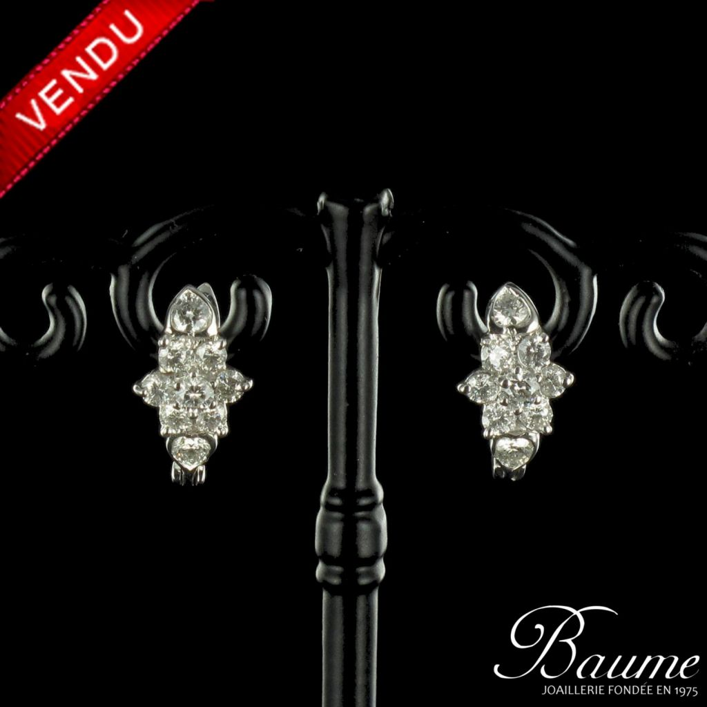 Boucles d 'oreilles Diamants
