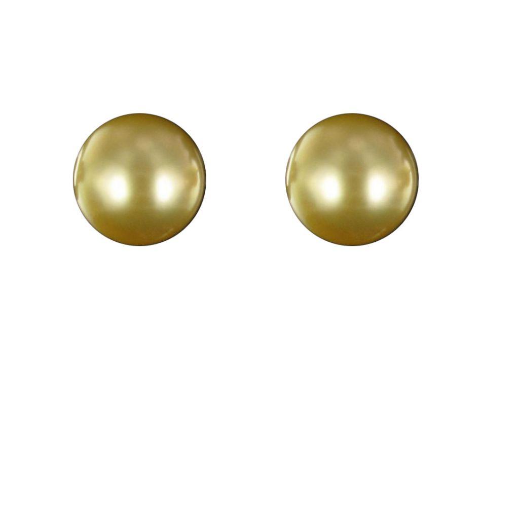 Boucles d 'oreilles Perles Gold