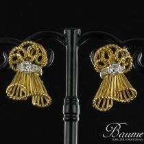 Boucles d'oreilles Diamants 1950