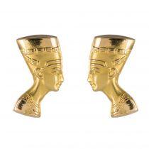 Boucles d\'oreilles en or Néfertiti