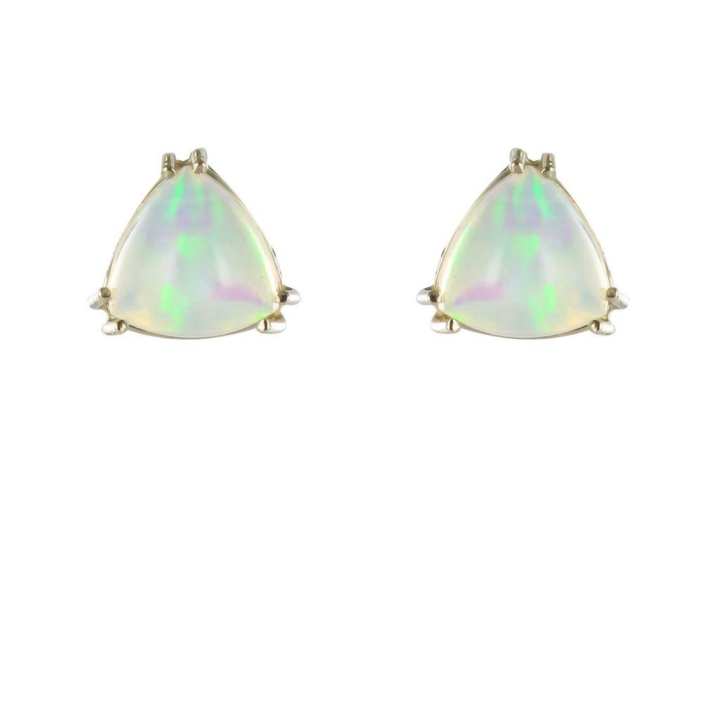 Boucles d\'oreilles opales