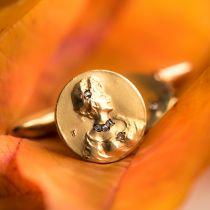Boutons de manchettes anciens art nouveau or et diamants