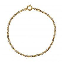 Bracelet ancien en or fin