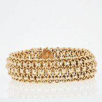 Bracelet ancien en or rose