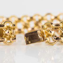 Bracelet ancien or ciselé