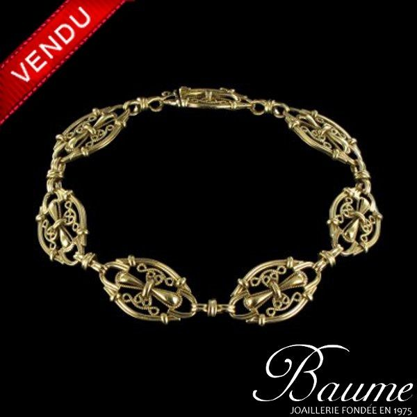 Bracelet ancien or