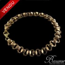 Bracelet ancien or rose
