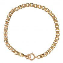 Bracelet ancien or rose