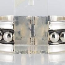 Bracelet argent jonc style Déprès