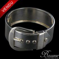 Bracelet ceinture argent