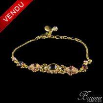 Bracelet chaine Cristaux de Swarovski et émail