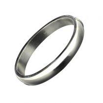 Bracelet demi-jonc argent 1 cm