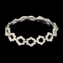 Bracelet diamants esprit Art déco G 2