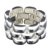 Bracelet en argent large