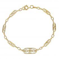 Bracelet filigranes d\'or
