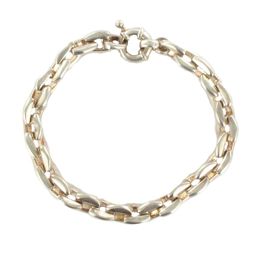 bracelet gourmette argent massif bijoux argent bijouxbaume. Black Bedroom Furniture Sets. Home Design Ideas