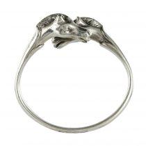 Bracelet Hermès têtes de chevaux argent