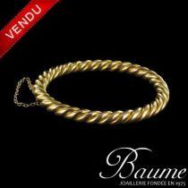 Bracelet jonc or