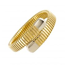 Bracelet jonc or tubogaz