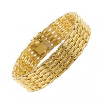Bracelet occasion or jaune