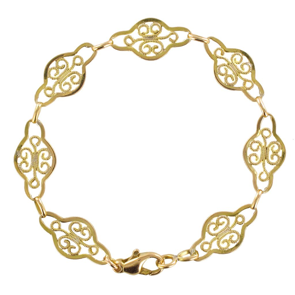 bracelet femme en or jaune