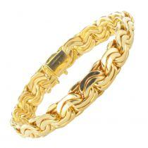 Bracelet or jaune souple