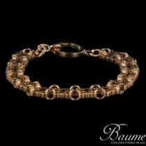 Bracelet or rose ajouré