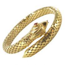 Bracelet Serpent en Or