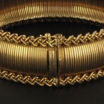 Bracelet souple en Or jaune