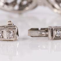 Bracelet vintage diamants