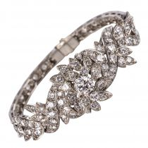 Bracelet vintage diamants
