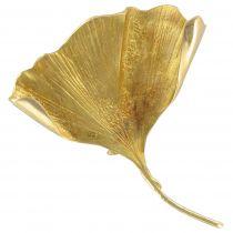 Broche en or feuille de Ginko Biloba