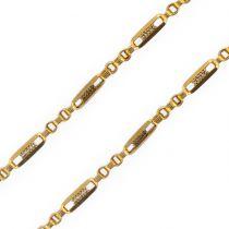 Chaine de montre ancienne en or