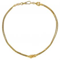 Chaine de montre ancienne or