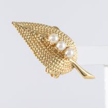 Clips d\'oreilles anciens perles