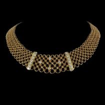 Collier ancien diamants