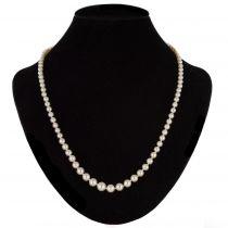 Collier ancien perles de culture en chute