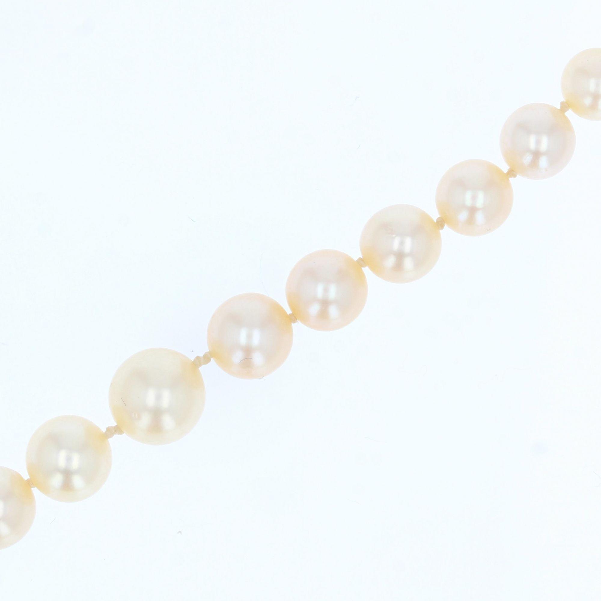 Collier chute de perles