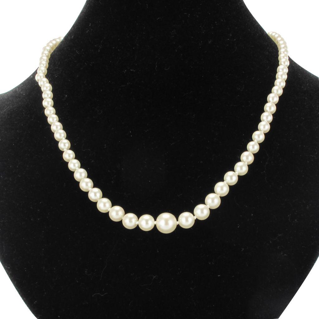 Collier de perles de culture en chute
