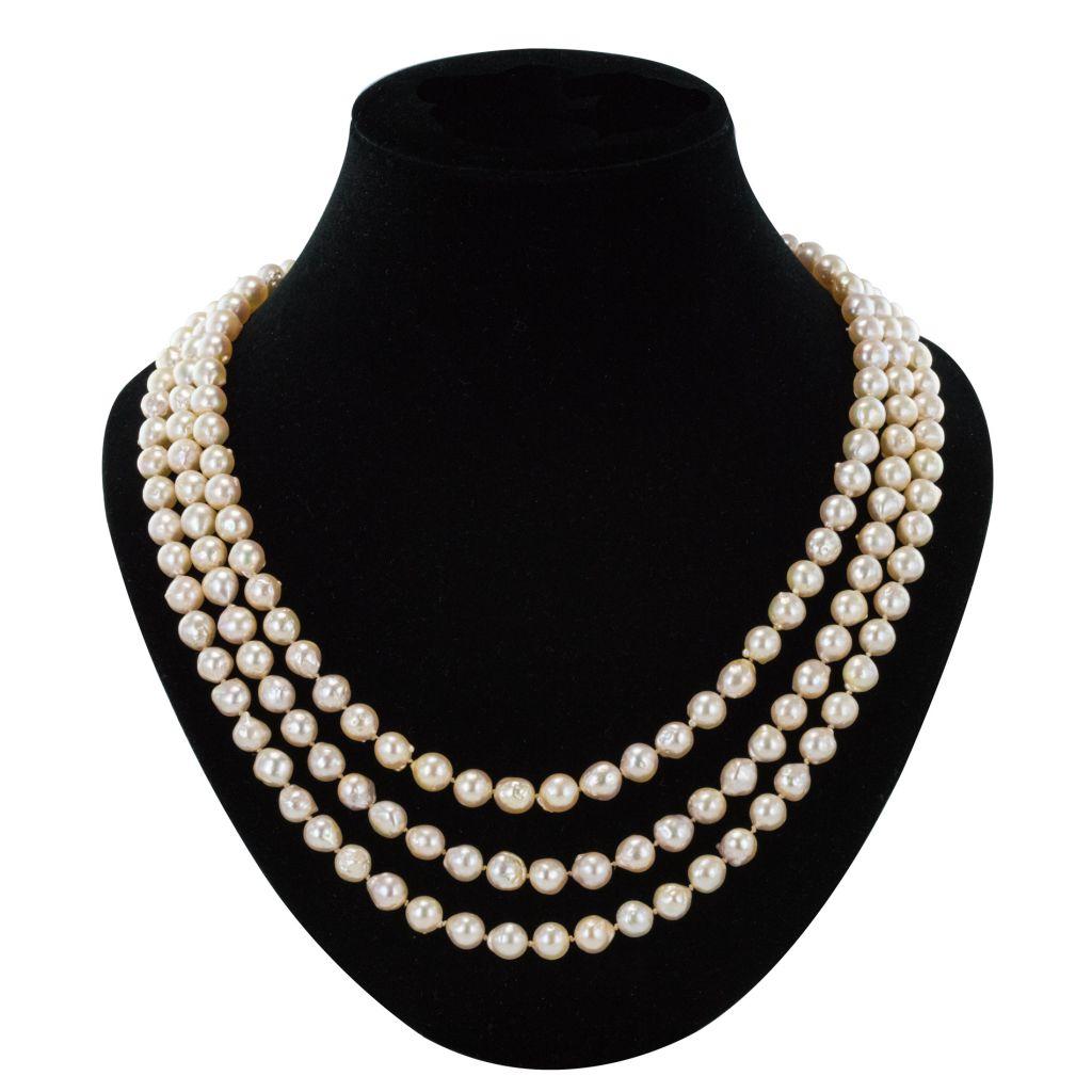 collier perle de culture fantaisie
