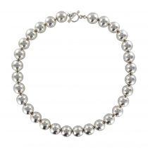 Collier perles d\'argent