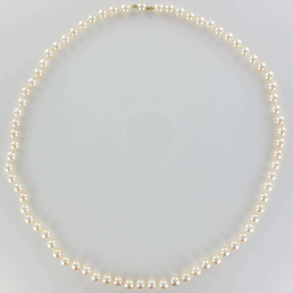 Collier perles de culture choker