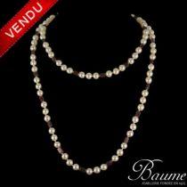Collier Perles et Grenats
