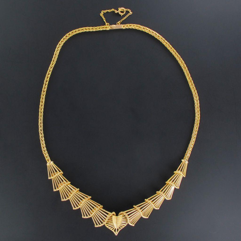 Collier vintage en or