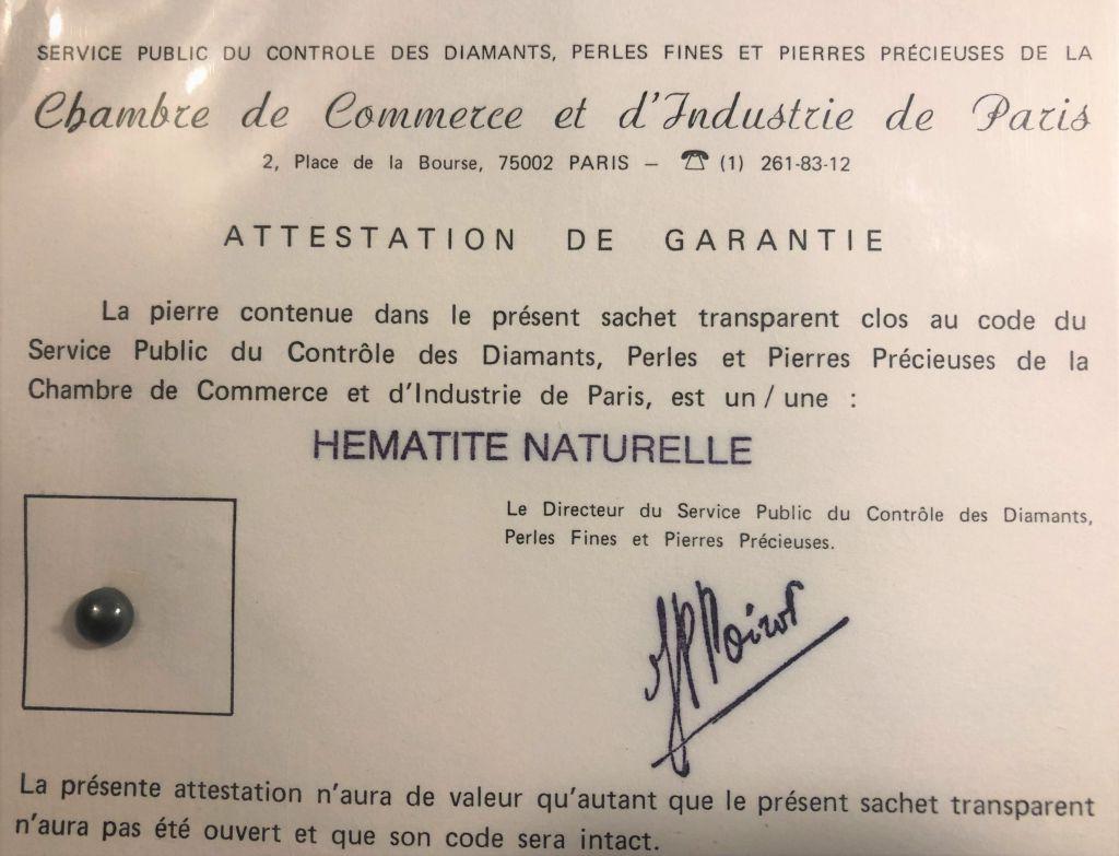 Hématite naturelle