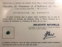 Malachite naturelle