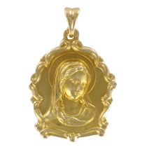 Médaille or vierge