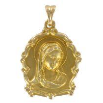 Médaille or vierge